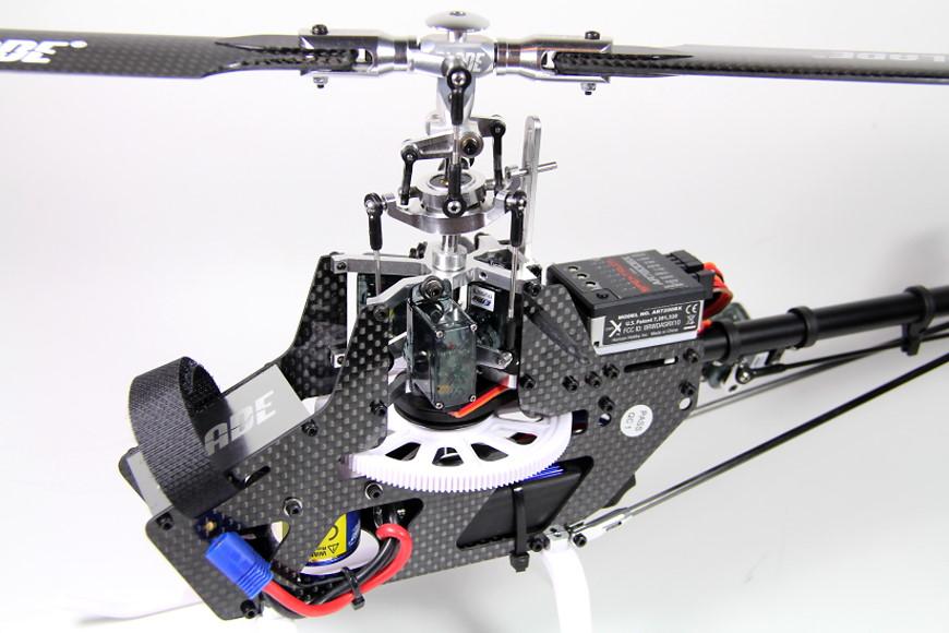 Blade 300 CFX BNF - Aufbau des Chassis