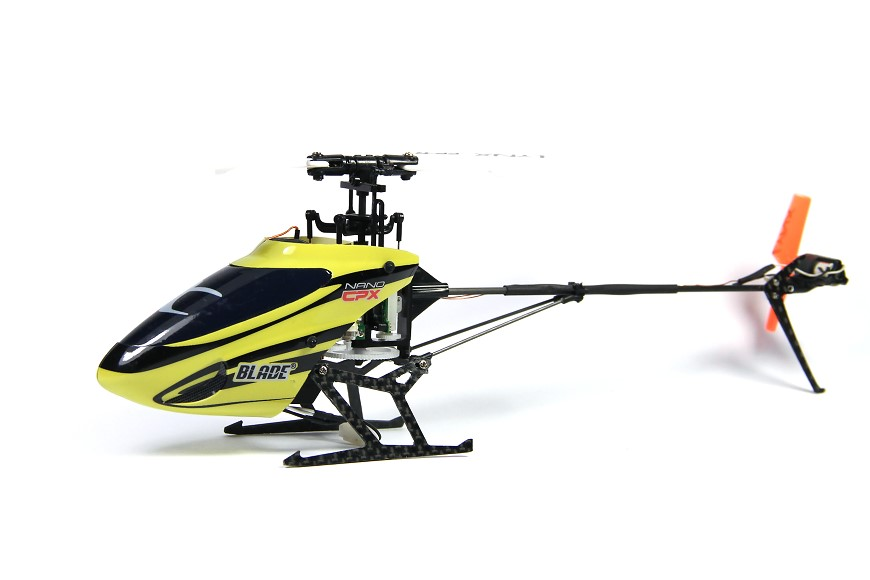 Blade Nano CPX Brushless Tuning Lynx Heckrotorblätter Stretched Heck