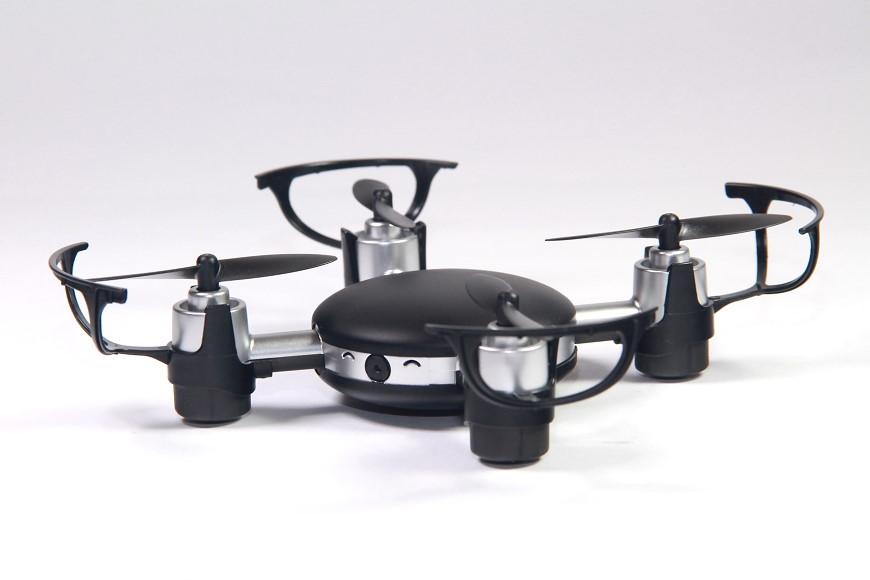 DS24 MJX X906T Mini Lilly FPV Quadrocopter: Mit montierten Prop Guards