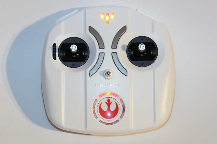 Propel Star Wars T-65 X-Wing Battle Drone / Quadrocopter: Controller / Fernsteuerung
