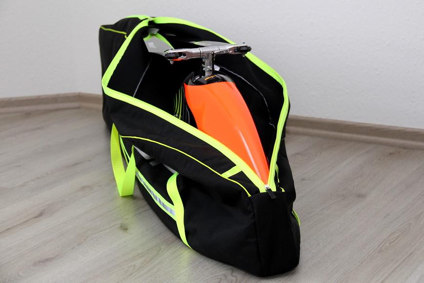 RC Heli Transporttasche für den Henseleit TDF von aerolutions.de: Die Tasche ist eng geschnitten und passt perfekt!