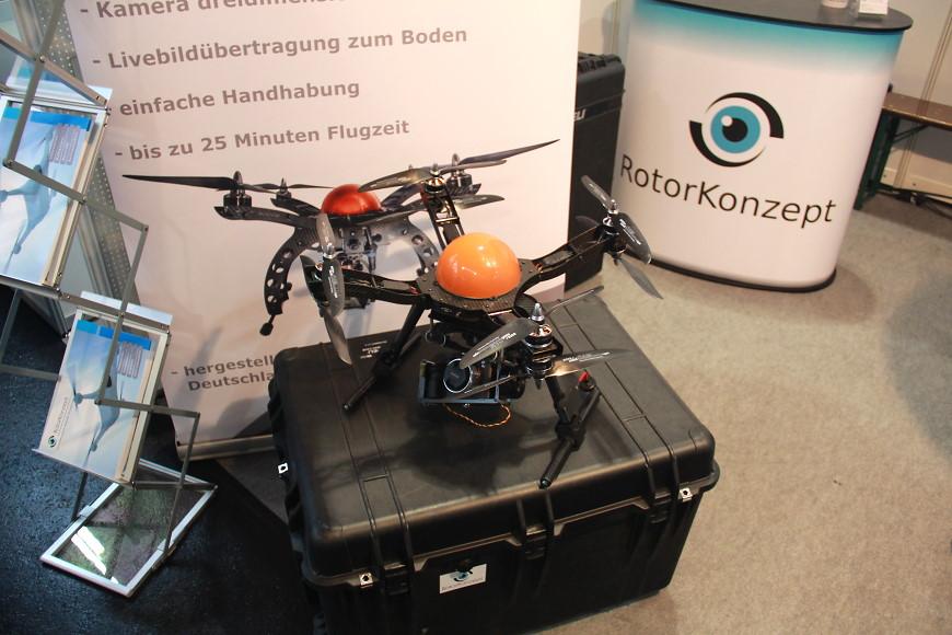 Faszination Modellbau 2016 Friedrichshafen: Multikopter