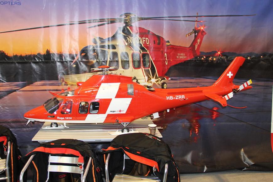 Faszination Modellbau 2017 Friedrichshafen: RC Scale Helikopter