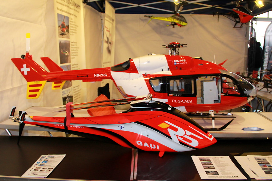 Rotor live 2016: Helikopter Baumann