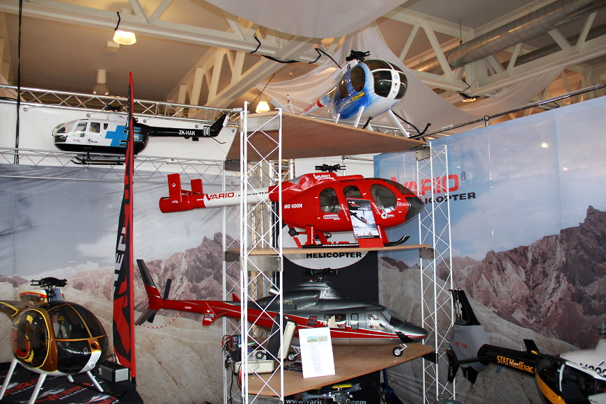 Rotor live 2016: Vario Helicopter