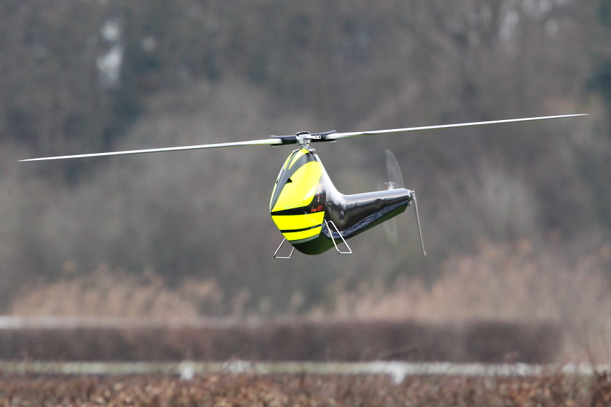Rotor live 2016: minicopter Diabolo S (Miles Dunkel)