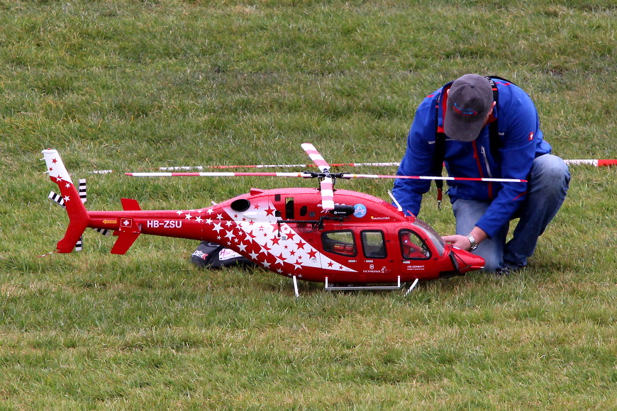 ROTOR live 2018 Iffezheim: Bell 429