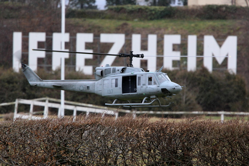 ROTOR live 2018 Iffezheim: Bell UH 1D