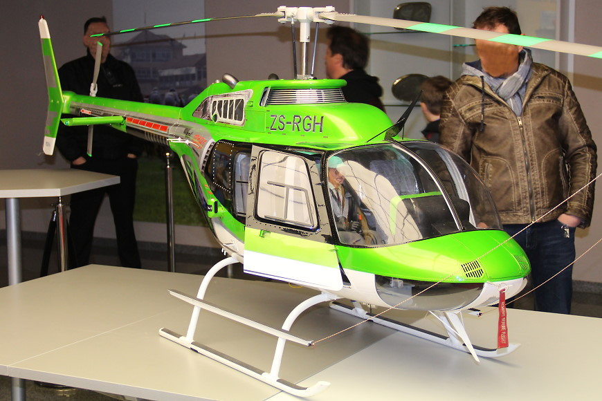 ROTOR live 2019: Bell 206B3