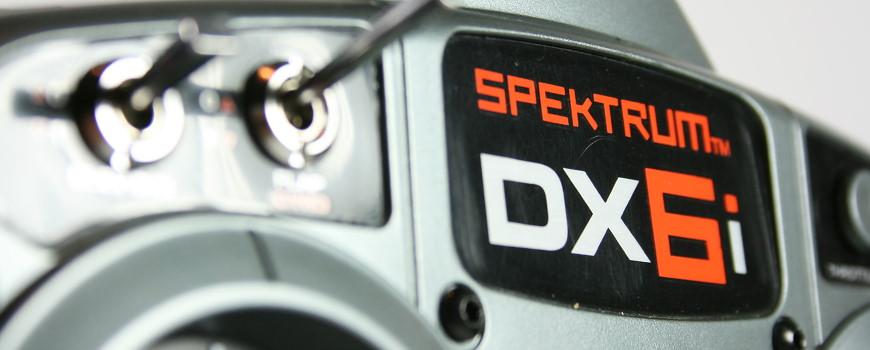 Programmierung der Spektrum DX6i