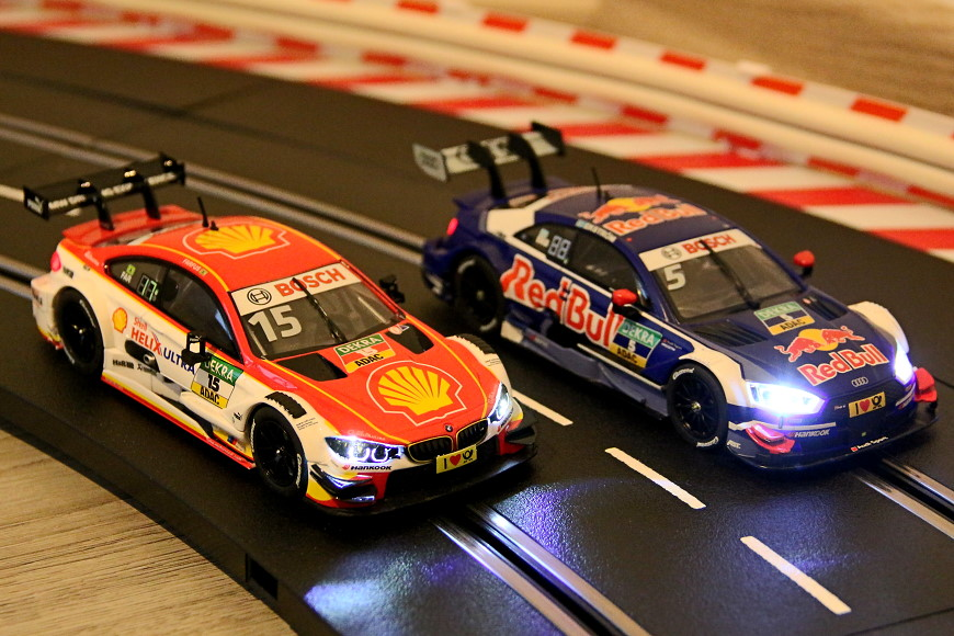 Carrera Digital 132 DTM Audi und BMW