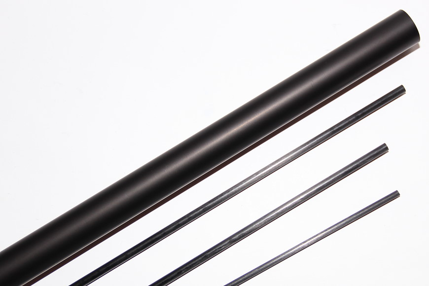Henseleit TDF - Heckgetriebe: Aluminiumheckrohr, Heckstreben und Anlenkstange für den Heckrotor