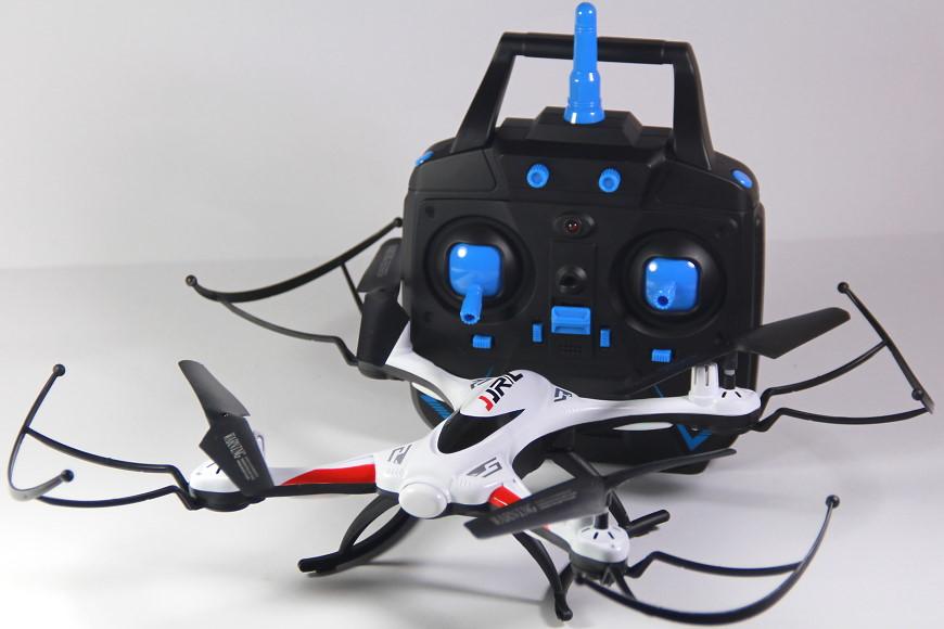 JJRC H31 Quadrocopter - mit montierten Prop Guards und 2,4 GHz Sender