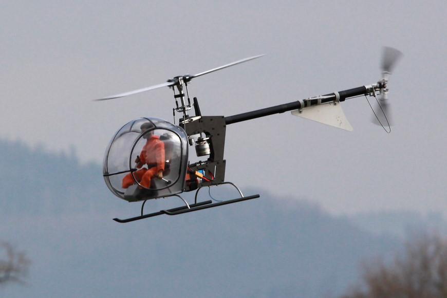 Rotor live 2016: minicopter Heli Baby NT
