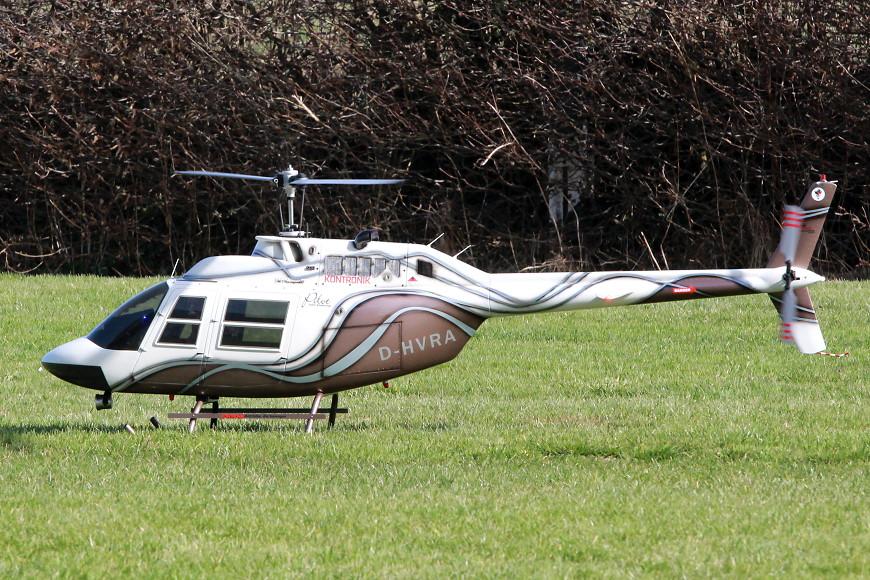 ROTOR live 2017: Bell 206 B-3 Jet Ranger