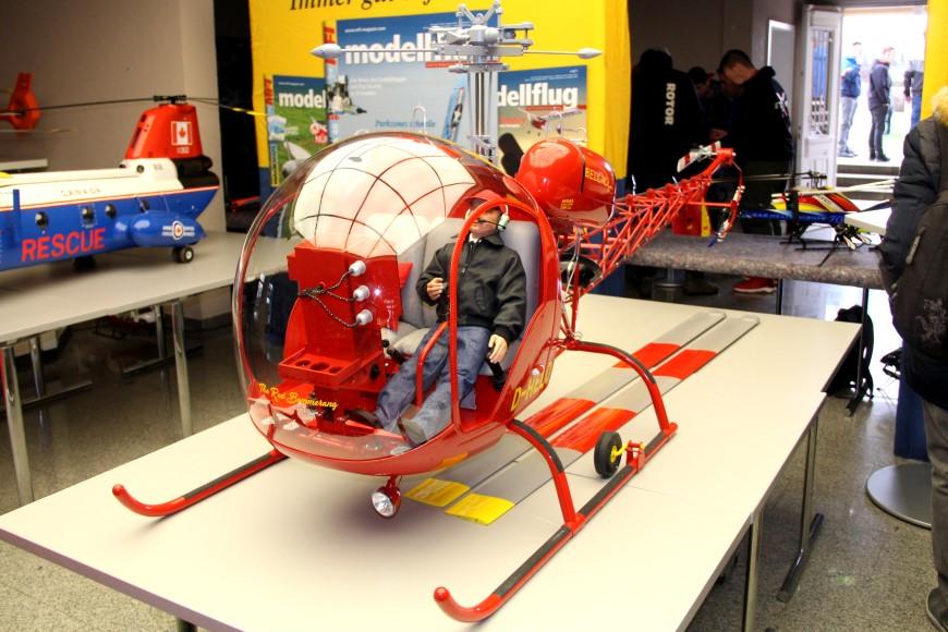 ROTOR live 2019: Bell 47 G der Heli-Fischers