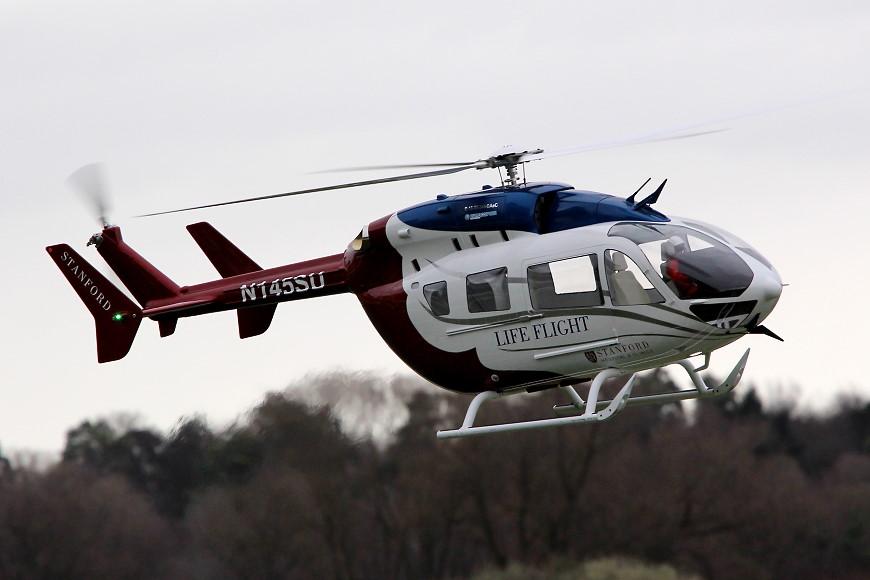 ROTOR live 2019: Alterbaum Premium Helicopter EC-145